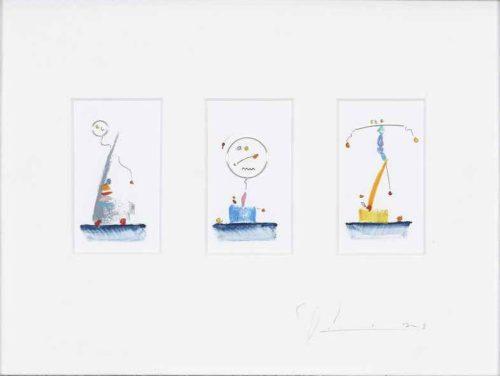 abstrakte Trilogie
